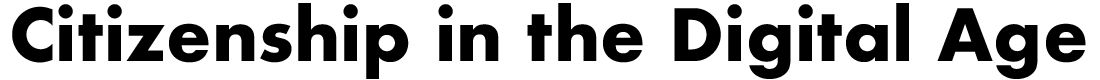 Citizenship in the Digital Age Logo