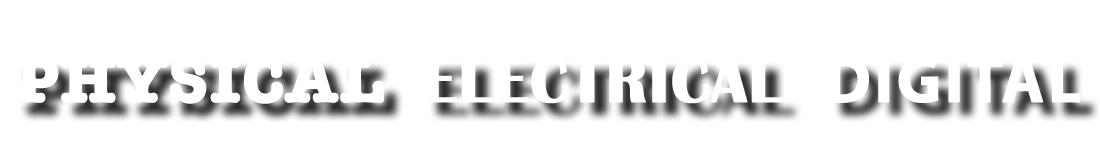 Physical, Electrical, Digital Logo