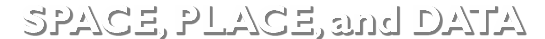 Space, Place, and Data Logo